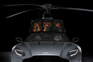 Aston Martin Helicopter Is One Stylish Chopper