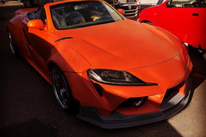 Drool Over This Hand-Built Toyota Supra Convertible