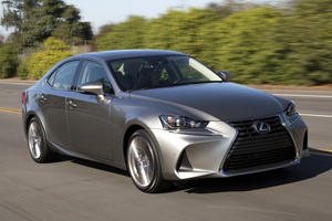 Lexus Finally Makes A Decision About Aging IS Sedan