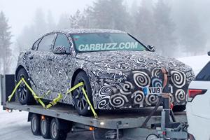 Jaguar Caught Testing New Tesla Model S Fighter