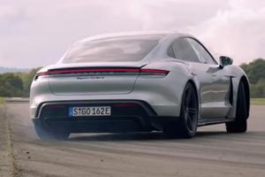 Porsche Taycan Gets Sideways In New Top Gear Trailer