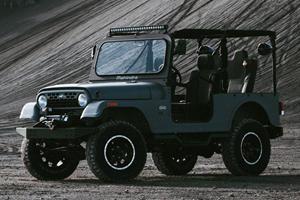 New Mahindra Arrives Looking Less Like A Jeep Wrangler