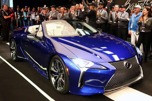 First 2021 Lexus LC 500 Convertible Sells For Crazy Money
