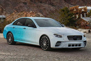 First Look At New Mercedes-Benz E-Class