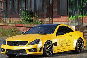 Fostla SL55 AMG Goes for the Gold