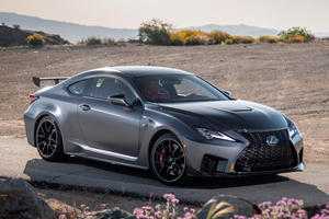Awesome Lexus RC F Track Edition Is On Sale This Month