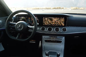 Check Out The Stunning Interior Of The New Mercedes-Benz E-Class