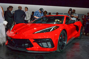 The First C8 Chevy Corvette Will Never Be Driven