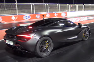 This McLaren 720S Quarter-Mile Time Is Faster Than Many Hypercars
