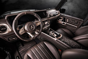 Mercedes G63 Steampunk Edition Is A Stunning One-Off
