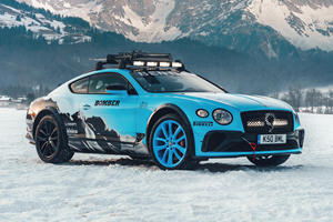Bentley Continental GT Transformed Into Hardcore Ice Racer