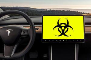 Tesla Helps Drivers Escape Coronavirus