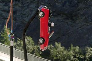 Watch A Car Bungee Jump In Terrifying Top Gear Stunt
