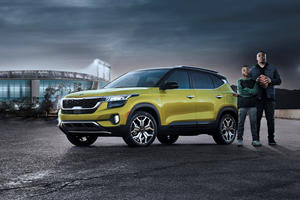 NFL Star Drives New Kia Crossover In Super Bowl Ad