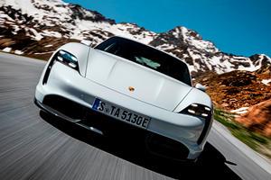 The Porsche Taycan Turbo S Is Quicker Than A Bugatti