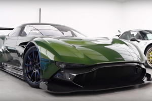 Watch A Rare Aston Martin Vulcan Get Bespoke Paint Job