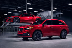 Supercar Paint Job On Acura MDX Doesn't Come Cheap