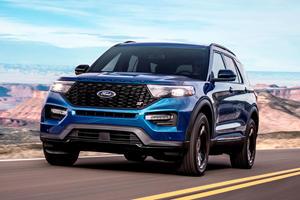 Popular Option Returns For 2020 Ford Explorer