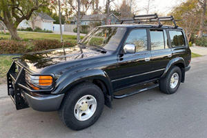 Live Your Overland Dreams In This 1996 Toyota Land Cruiser