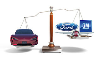 Tesla Worth More Than 3 Major Automakers Combined