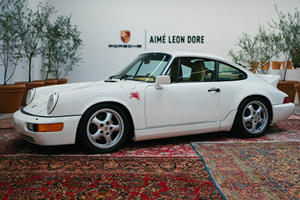 Vintage Porsche 911 Gets Chic Makeover For NY Fashion Week