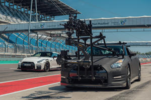 Nissan GT-R Becomes Ultimate High-Speed Camera Car