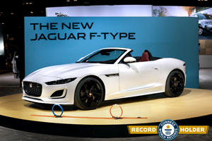 Watch The Jaguar F-Type Break A World Record