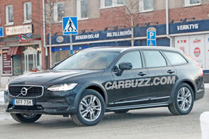 First Look At The New Volvo V90 Cross Country