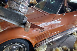 Check Out The Aftermath Of $1 Million Worth Of Damaged Corvettes