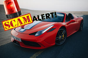 Car Thieves Find Genius Way To Steal Ferraris