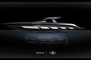 Mercedes-AMG G-Wagen Inspires A Speed Boat
