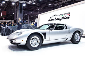 Lamborghini Unearths The Rarest Of Miuras