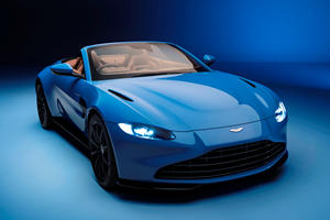 2021 Aston Martin Vantage Roadster First Look Review: Wind-Smacking V8 Power