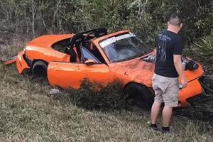 The Hellcat-Powered Miata Has Crashed