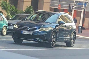 2021 Volkswagen Tiguan Shows Its Face For The First Time