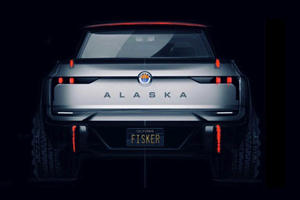 Fisker Teases Electric Pickup Truck To Rival Rivian R1T