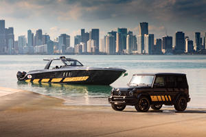 Mercedes-AMG G63 Inspired By 2,700-HP Speed Boat