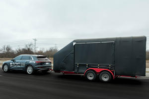 Audi E-Tron Proves Electric Cars Are Not Built For Towing