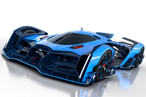 Bugatti Vision Le Mans Is One Crazy Concept