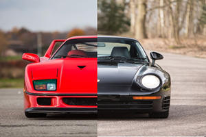Ferrari F40 Vs Porsche 959 - Which Would You Pick?