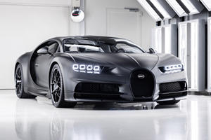 Bugatti Edition Noire Sportive Is The 250th Chiron