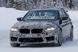 Don't Worry, The New BMW M5 Won't Have A Massive Grille