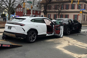 Kids Crash Two Stolen Lamborghini Urus SUVs Into Each Other