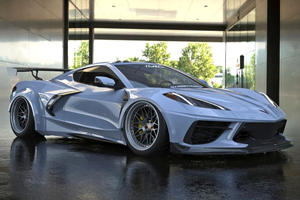 This C8 Corvette Widebody Kit Looks Absolutely Sublime