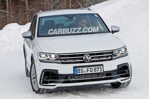 First Look At Hardcore 2021 Volkswagen Tiguan R
