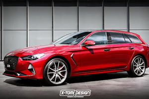Genesis Is Considering A Shooting Brake Version Of The G70