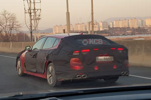 Kia Stinger Facelift Coming Sooner Than You Think