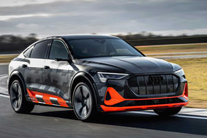 This Is The 500 HP Audi e-tron S