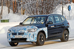BMW iX3 Spotted Wearing Some Funky New Wheels
