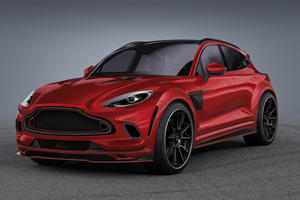 Aston Martin DBX Gets Aggressive Carbon Makeover